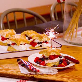 Star-Shaped Shortcakes