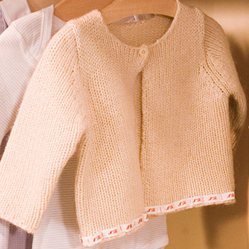 Personalizing a Baby Sweater
