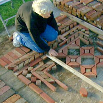 Brick Garden Rugs with Margaret