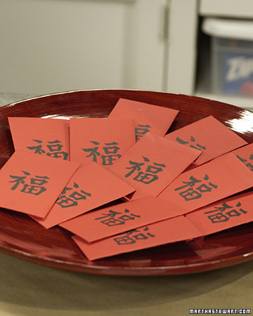 Red Envelope, Oranges, and Couplet Traditions