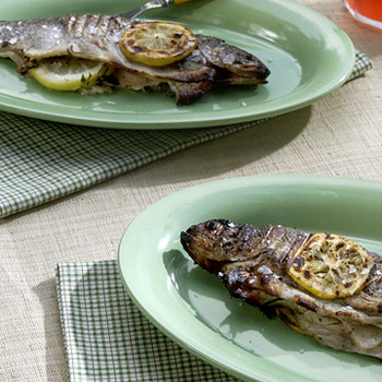 Grilled Rainbow Trout