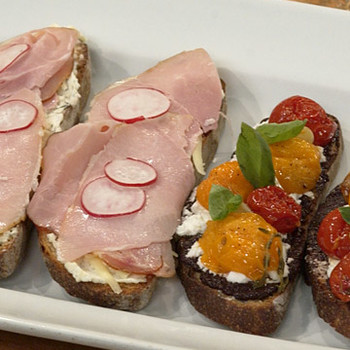 Tartine Sandwiches