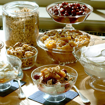 Dried-Fruit Yogurt Topping