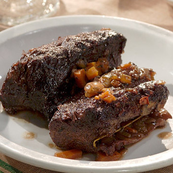 Marinated and Braised Short Ribs