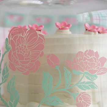 How to Make a Custom Cake Dome Image