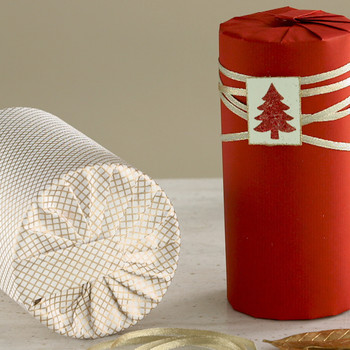 How to Wrap a Cylinder-Shaped Gift