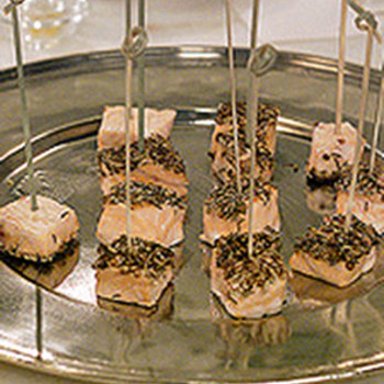 Champagne and Hors d'Oeuvres