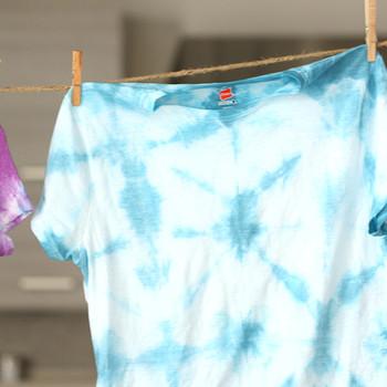 3 Simple Tie Dye Techniques