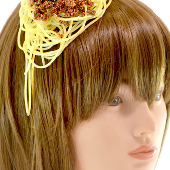Every Wish You Had a Spaghetti Necklace or Bacon Headband? Well, Now You Can!