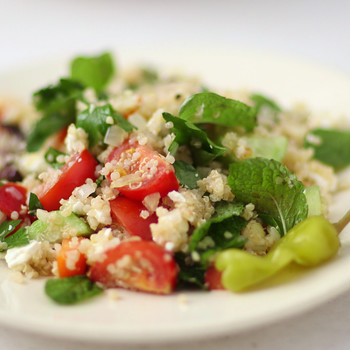 Greek Quinoa Salad Video