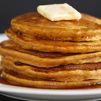Making the Best Pumpkin Pancakes Video KC