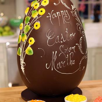 Embellishing Chocolate Easter Eggs