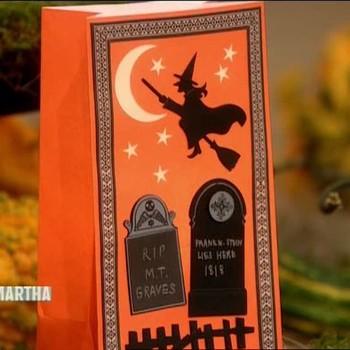 Stamped Halloween Invitations