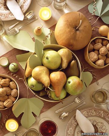 A Harvest Table