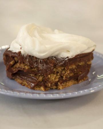 Chocolate Pudding Icebox Cake