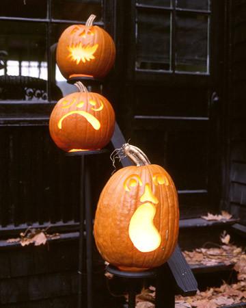 Dead Head Pumpkins