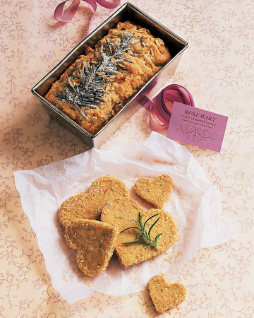 Rosemary-Walnut Shortbread Cookies