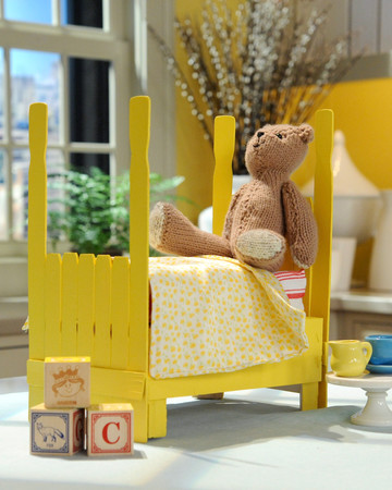 Clementine Crate Doll Bed