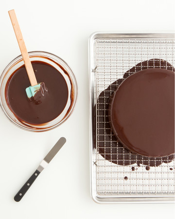 how to make jelly glaze for cake