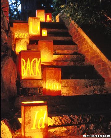 Scary Message Lanterns
