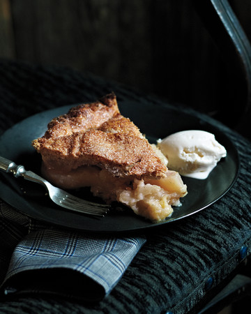 Apple-Pear Pie with Walnut Crust