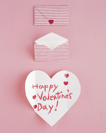 Folding Hearts Valentines
