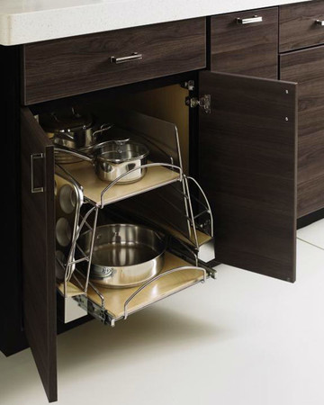 Cookware Pullout: Martha Stewart Living Weston Kitchen