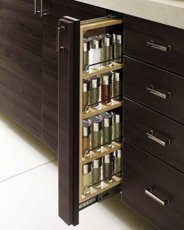 Spice Drawer: Martha Stewart Living Weston Kitchen