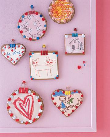 Thumbtack Valentine Frames