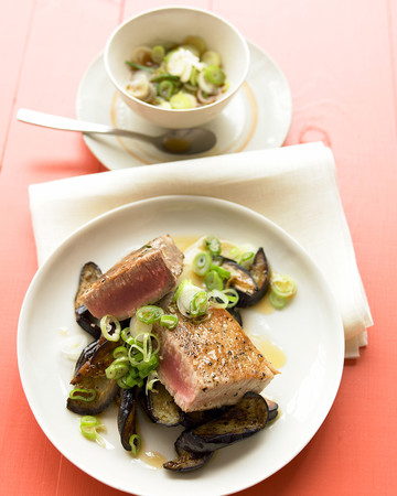 Seared Asian Tuna Steaks