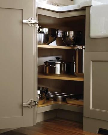 Corner Cabinet: Martha Stewart Living Ox Hill Kitchen