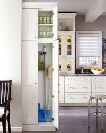 Utility Closet: Martha Stewart Living Dunemere Kitchen