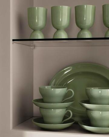 Open Wall Cabinet: Martha Stewart Living Skylands Kitchen