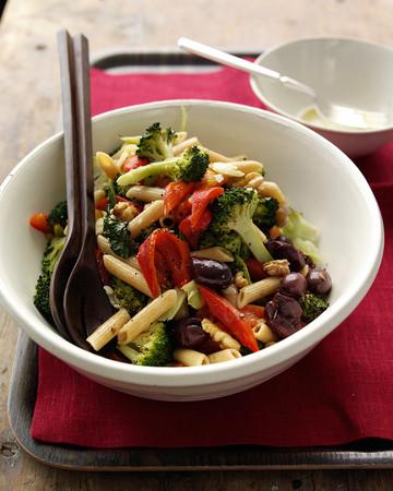 Pasta Salad with Roasted Broccoli