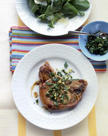 Lemon-Parsley Pork Chops