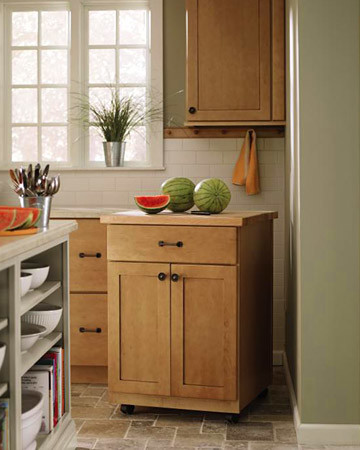 Floating Island: Martha Stewart Living Maidstone Kitchen