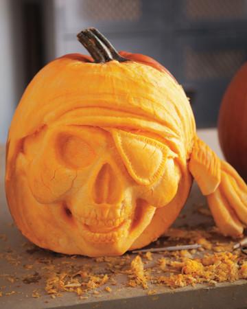 Pirate Skull Pumpkin
