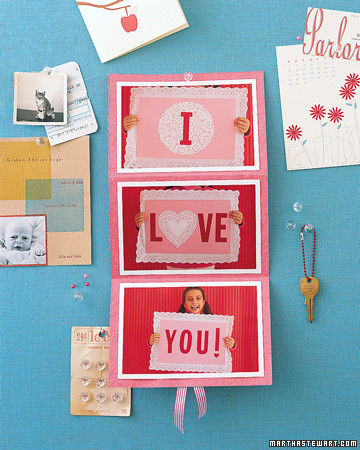 Valentine's Day Photo-Sign Card