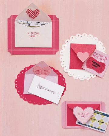 Embellished Envelope Cards