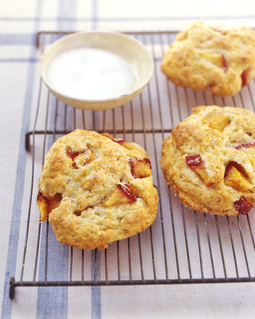 Nectarine Shortcakes