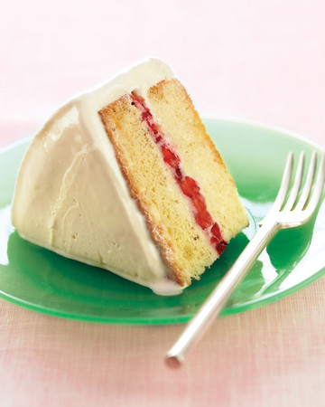 Inside-Out Strawberry Ice-Cream Cake