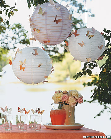 Butterfly Party Lanterns