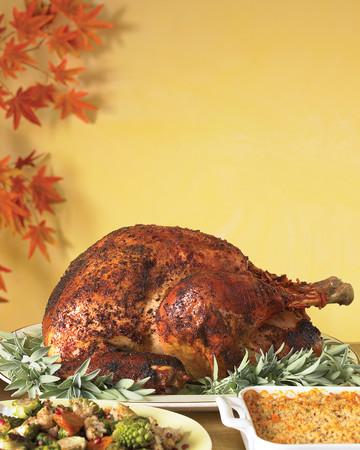 Spice-Rubbed Roast Turkey
