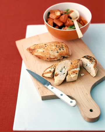 Chicken with Feta Cheese