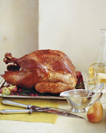 Roasted Brined Turkey