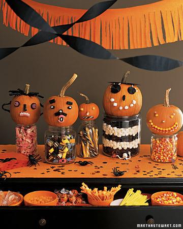Pumpkin Candy Faces
