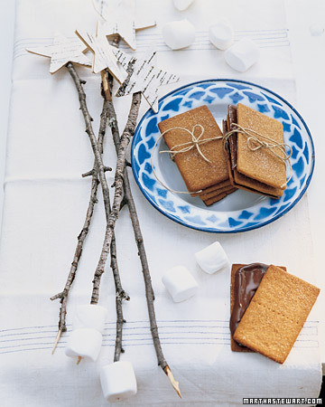 Star-Topped S'More Sticks