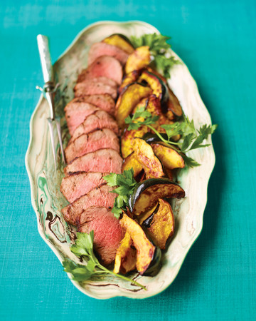 Pepper-Crusted Beef Tenderloin