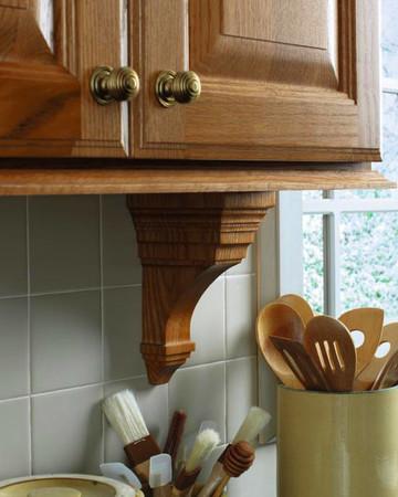 Art Corbels: Martha Stewart Living Mount Desert Kitchen