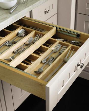 Tiered Cutlery Divider: Martha Stewart Living Seal Harbor Kitchen